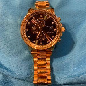 Citizen Gold watch and bracelet